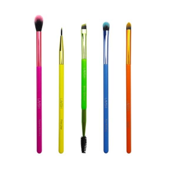 LAVISH rainbow eyeshadow brushes